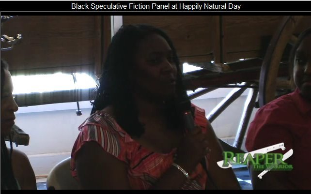 black speculative fiction panel snapshot