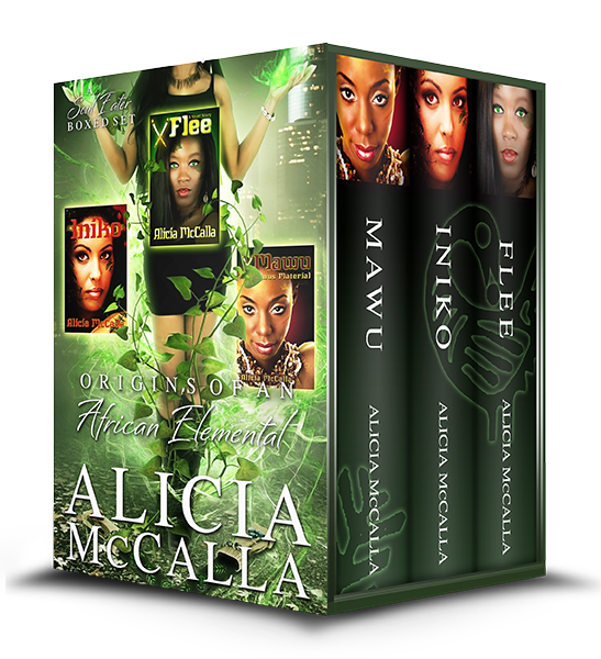 Origins boxed set written by Alicia McCalla