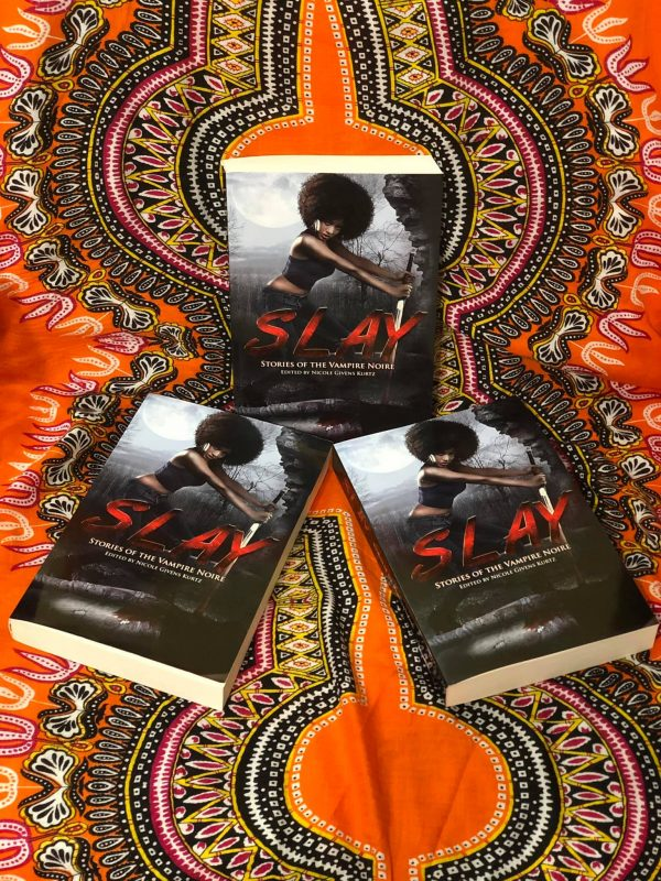 Three Copies of Slay Stories of Vampire Noire Featuring Black Vampires Alicia McCalla Offers Signed Copies